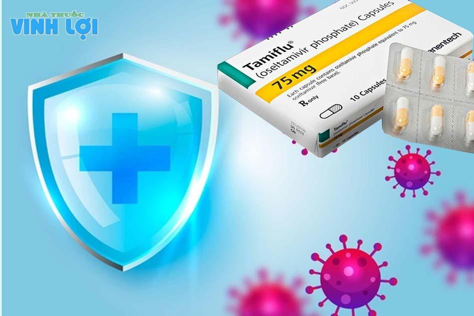 Tamiflu thuộc nhóm thuốc kháng virus