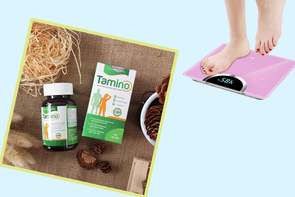 Thuốc bổ giúp tăng cân Tamino
