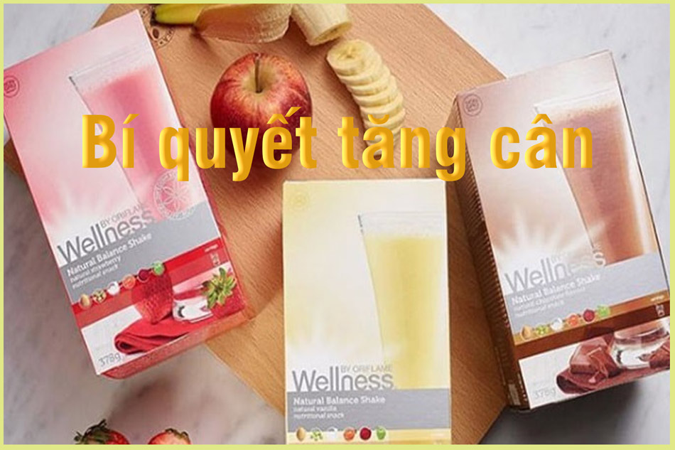 Thực phẩm chức năng tăng cân Wellness