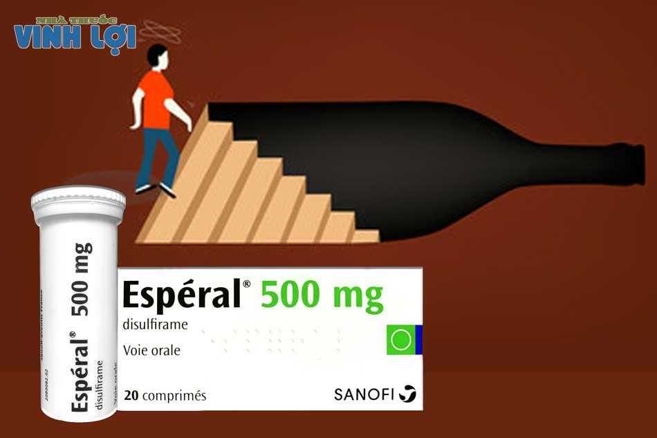 Thuốc cai rượu hiệu quả nhất Esperal (Disulfirame)