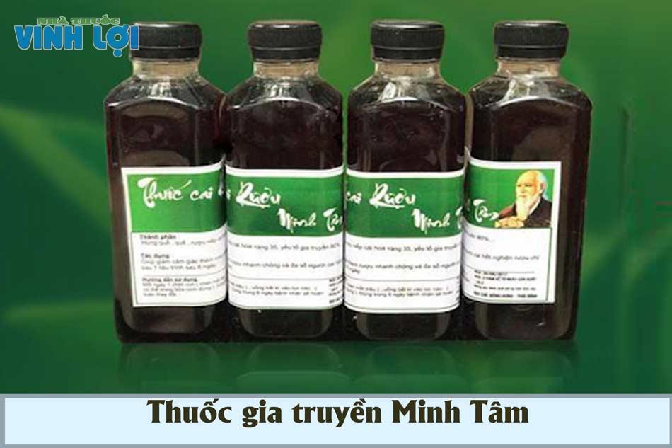 Thuốc cai nghiện rượu gia truyền Minh Tâm