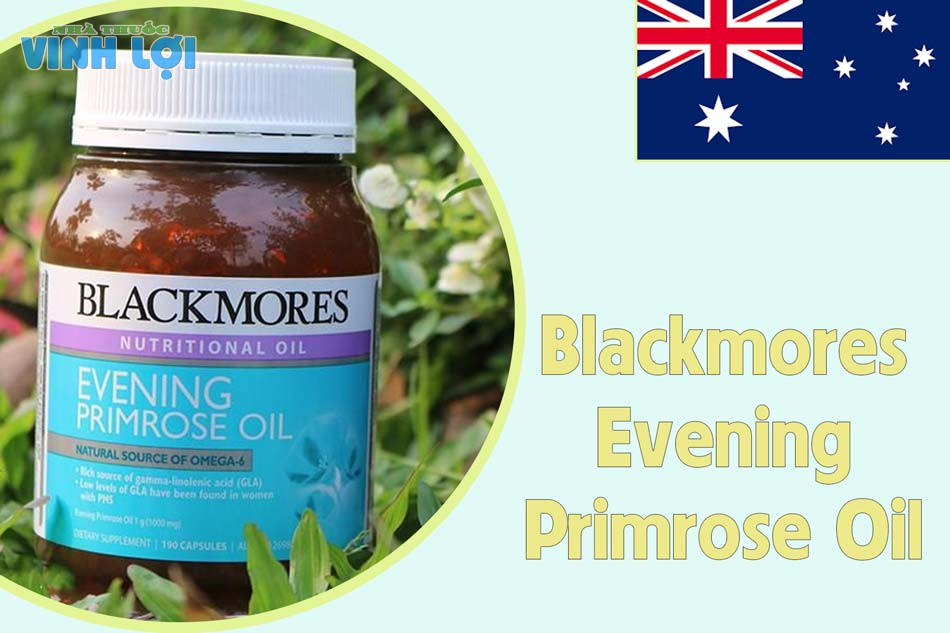 Thuốc tăng cường sinh lý nữ của Úc Blackmores Evening Primrose Oil