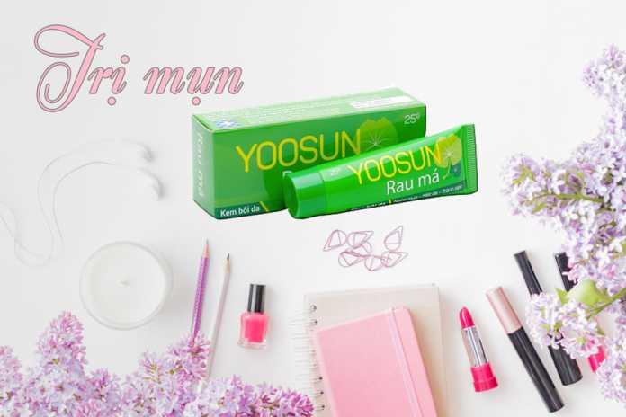 Kem trị mun yoosun rau má mang lại làn da đẹp