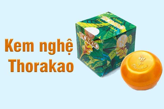 Kem nghệ Thorakao là sản phẩm có thương hiệu lâu đời