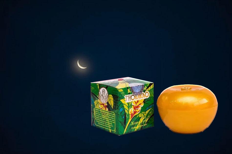 Kem nghệ thorakao không nên để qua đêm trên da mặt