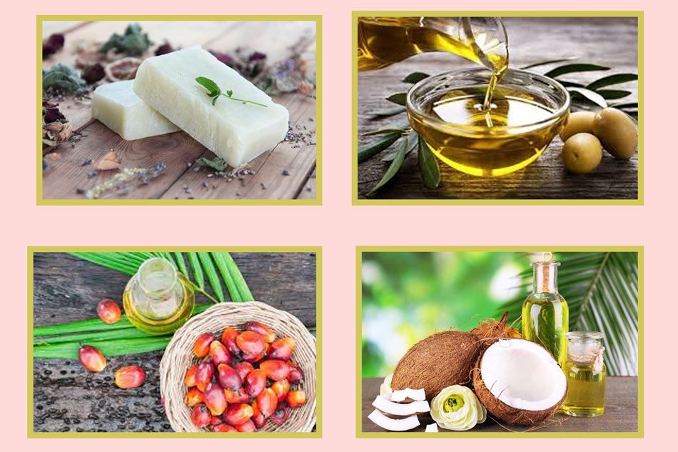 Làm xà phòng handmade từ dầu dừa, dầu olive và dầu cọ