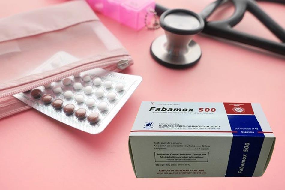 Fabamox 500mg làm giảm tác dụng thuốc tránh thai