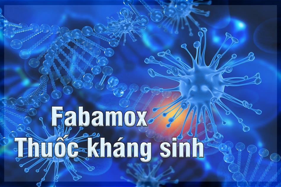 Fabamox chứa Amoxicilin là thuosc thuộc nhóm kháng sinh