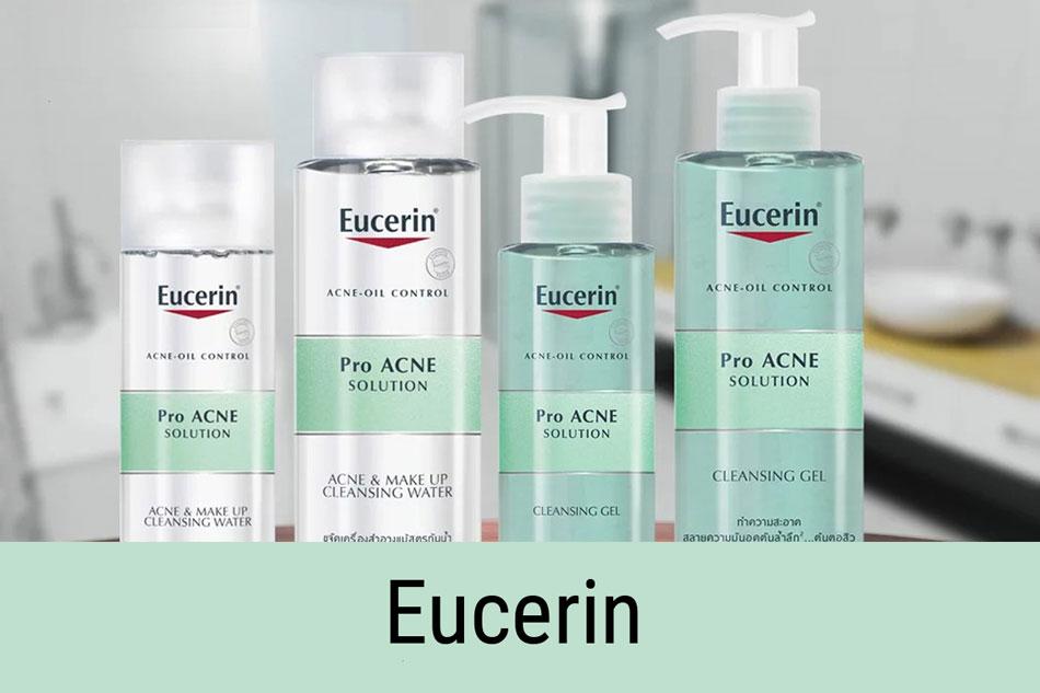 Gel rửa mặt trị mụn ẩn Eucerin Pro Acne Solution Cleansing Gel
