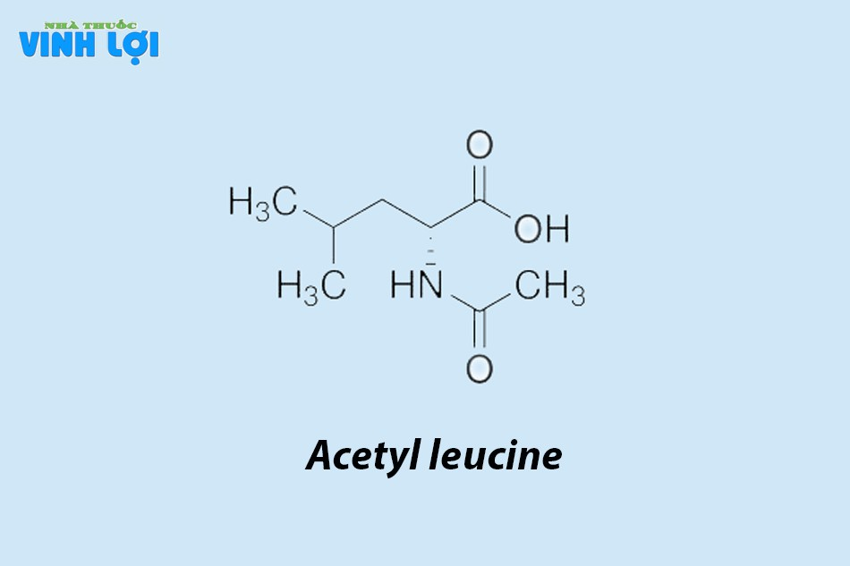 Acetyl leucine là thuốc gì?