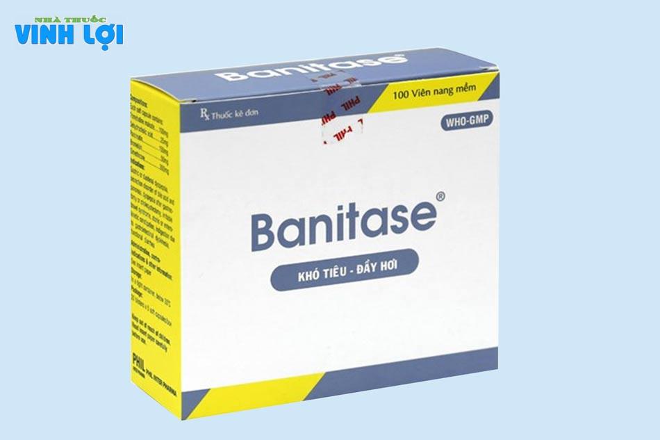 Banitase là thuốc thuộc nhóm về đường tiêu hóa