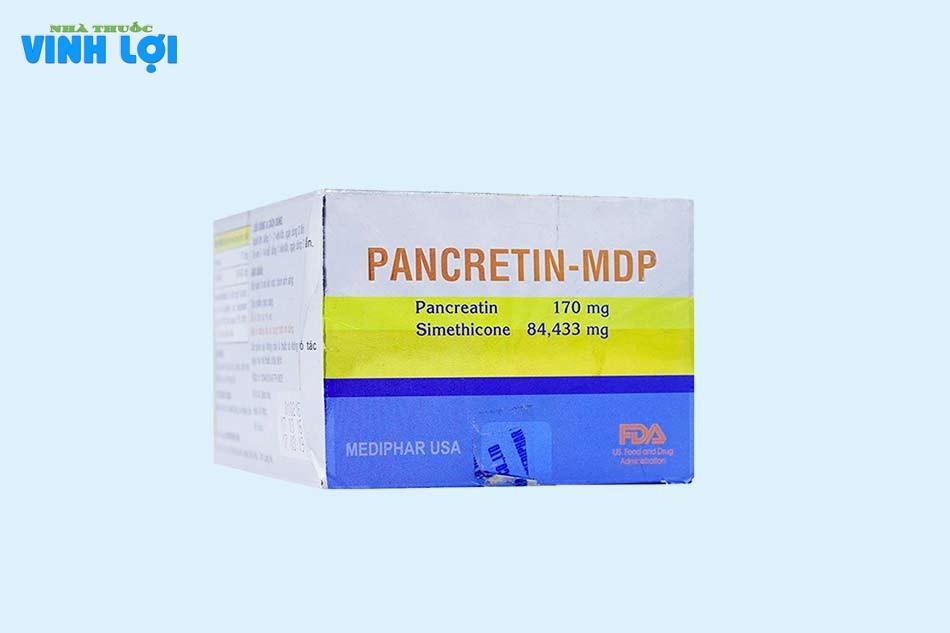 Tác dụng phụ Pancreatin