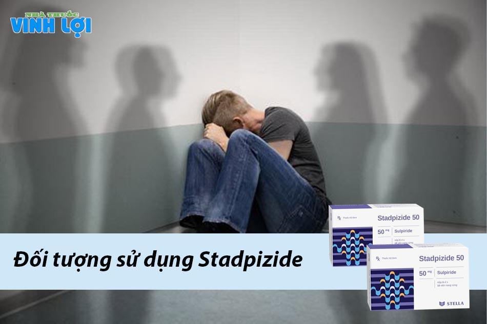 Stadpizide đối tượng sử dụng