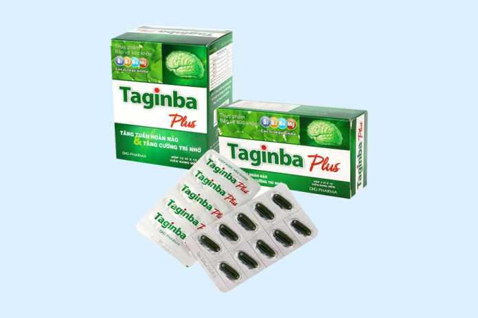 Thực phẩm bảo vệ sức khỏe Taginba Plus