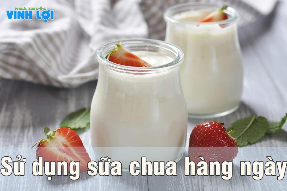 Sữa chua hằng ngày để loại bỏ vi khuẩn nấm Candida