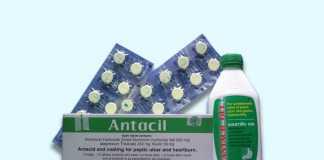 Thuốc Antacil: Thành phần, Công dụng, Giá bán
