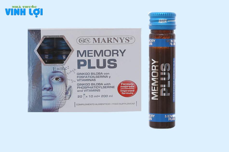Cách sử dụng dung dịch bổ não Memory Plus