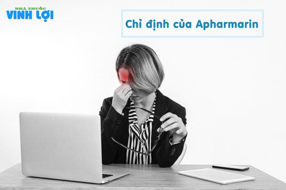 Chỉ định của Apharmarin 5mg