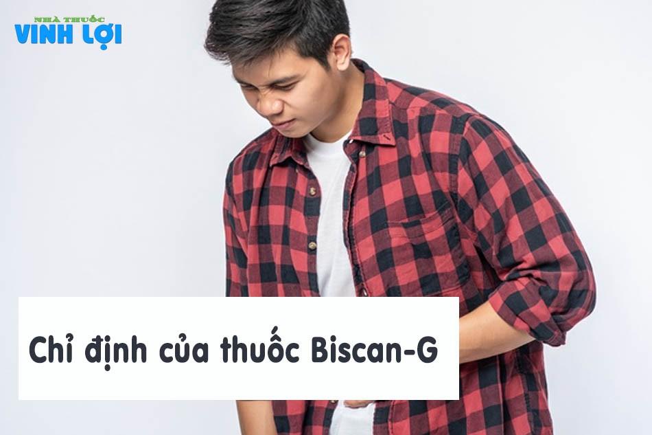 Chỉ định của thuốc Biscan-G