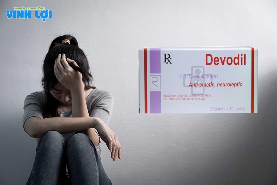 Chỉ định dùng Devodil