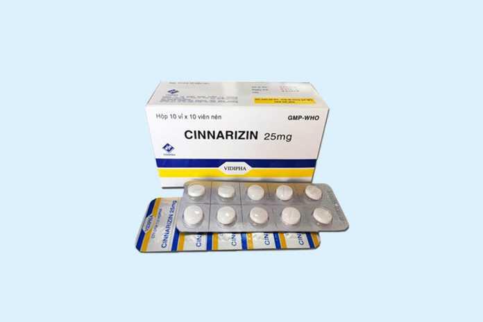 Cinnarizine 25mg
