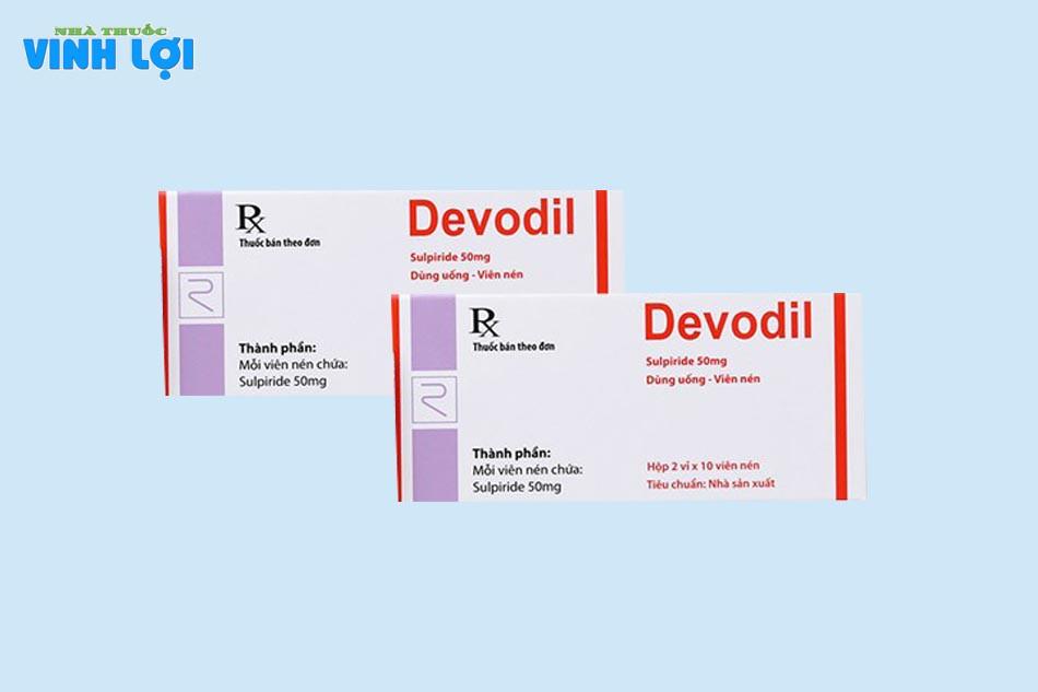 Devodil 50 là thuốc gì?