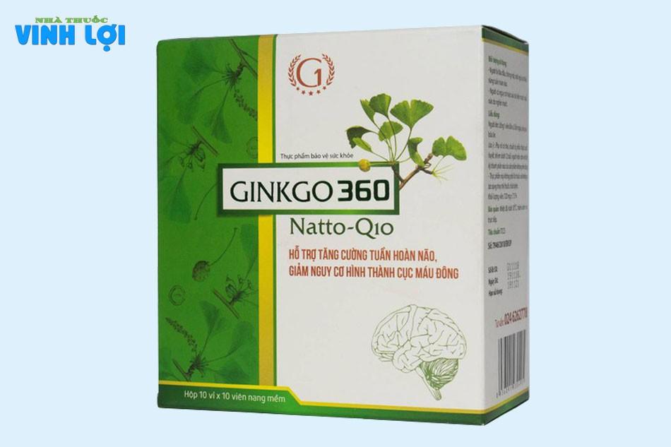 Viên uống Ginkgo 360 Natto Q10 là gì?