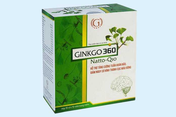 Viên uống Ginkgo 360 Natto Q10