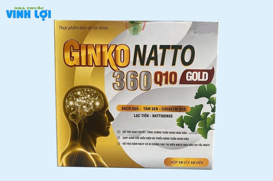 Cải tiến vượt trội với Ginkgo 360 Natto Q10 Gold