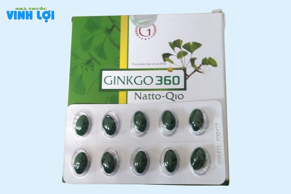 Đối tượng sử dụng Ginkgo Biloba 360 Natto Q10
