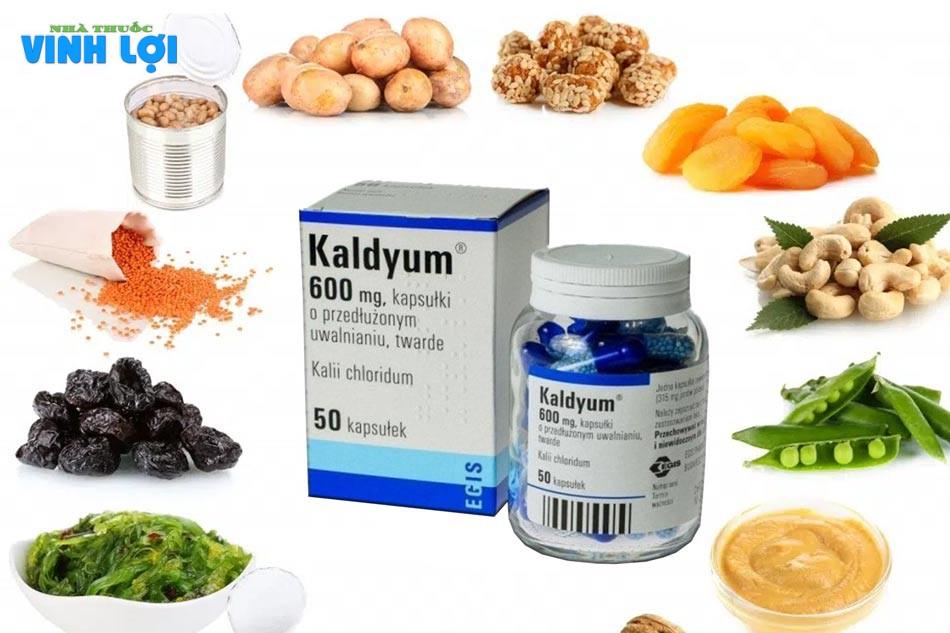 Lưu ý tương tác thuốc khi sử dụng Kadyum 600mg