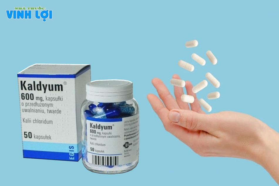 Liều dùng Kaldyum 600mg cho người trưởng thành