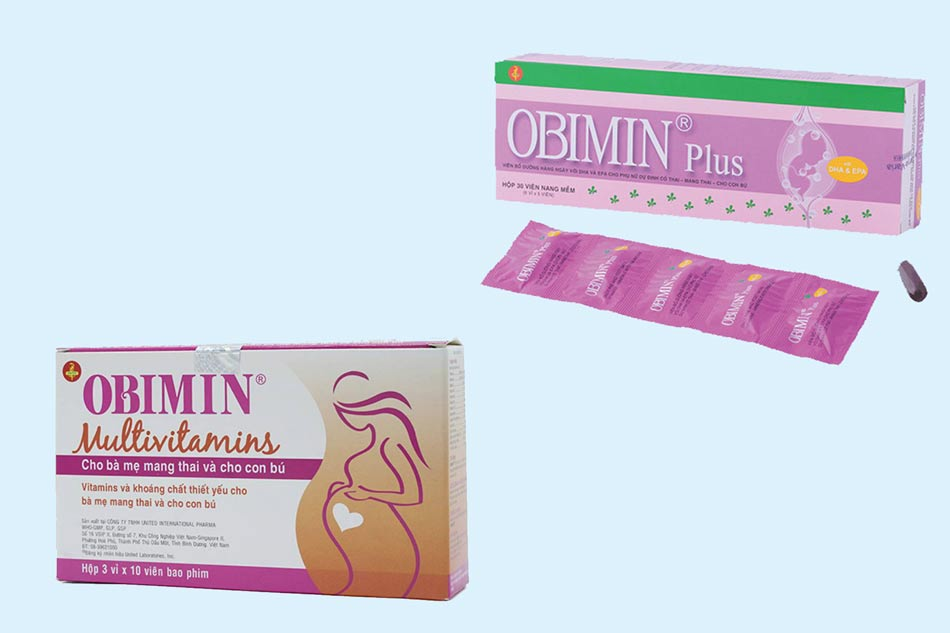 So sánh Obimin và Obimin Plus