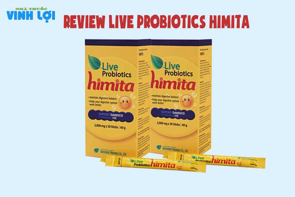 Review Live Probiotics Himita từ người dùng