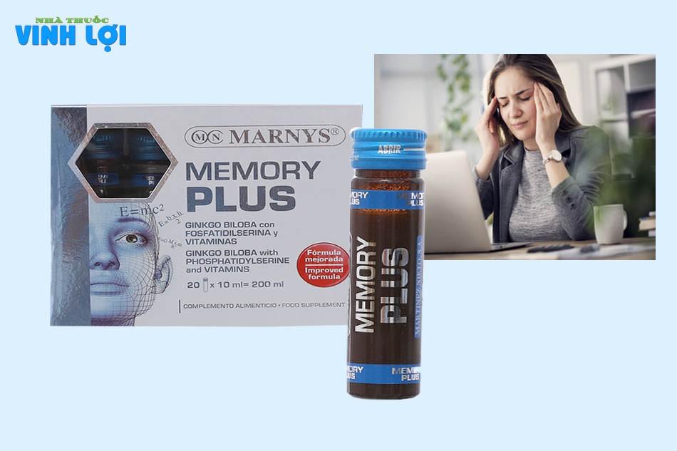 Review dung dịch bổ não Memory Plus từ người dùng