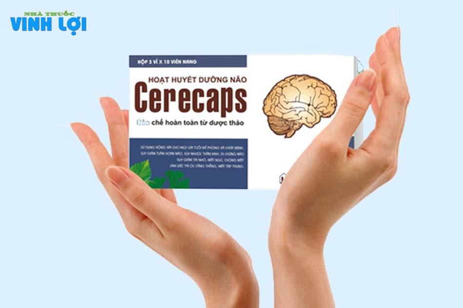 Sản phẩm thuốc hoạt huyết dưỡng não Cerecaps là gì?