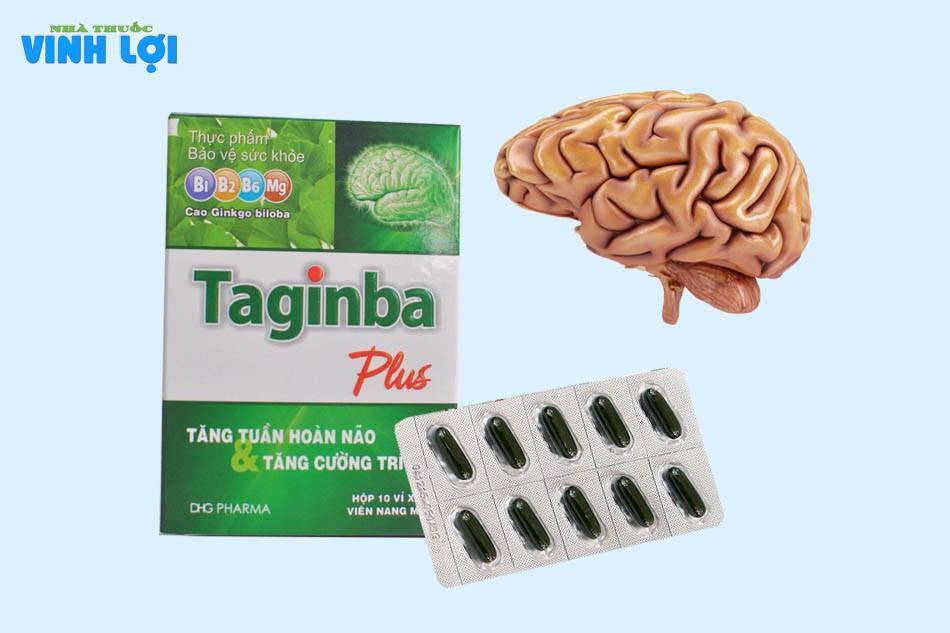 Tác dụng củaTaginba Plus Dược Hậu Giang