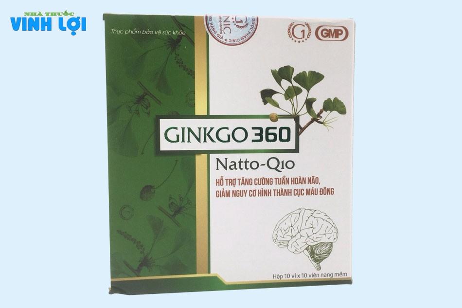 Viên uống Ginkgo 360 Natto Q10 giá bao nhiêu?