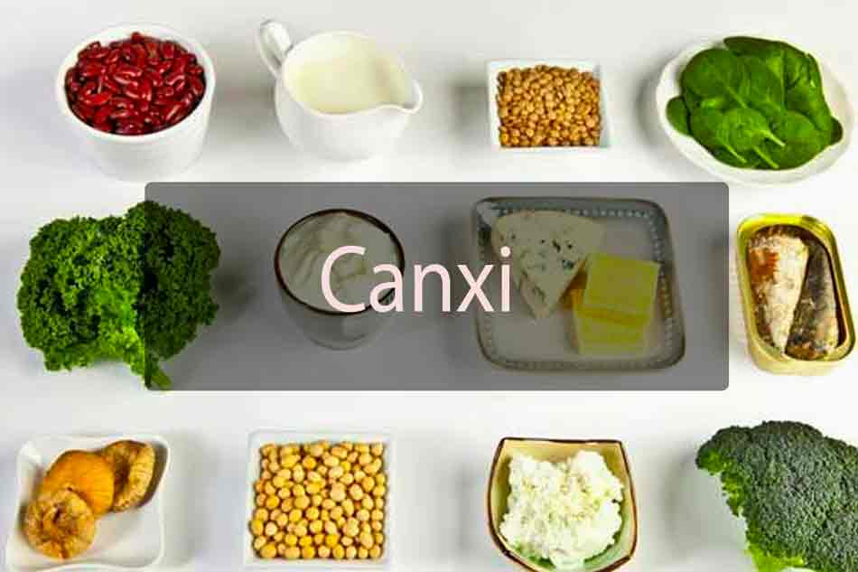 Thực phẩm bổ xung canxi