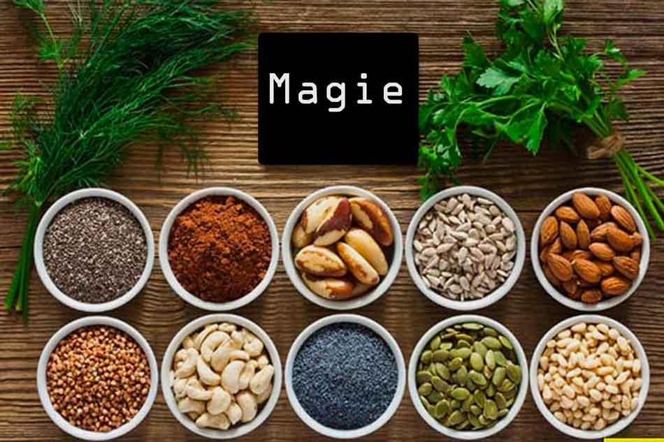 Thực phẩm chứa Magie
