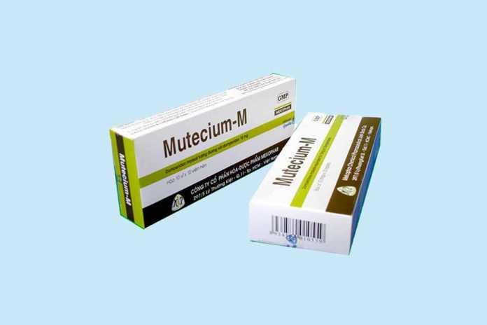 Thuốc Mutecium-M