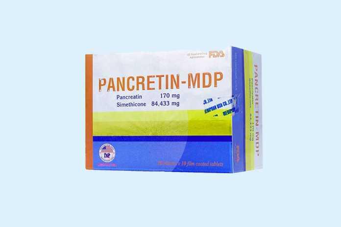 Pancreatin MDP 170mg