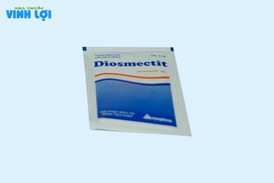 Chỉ định thuốc Diosmectit