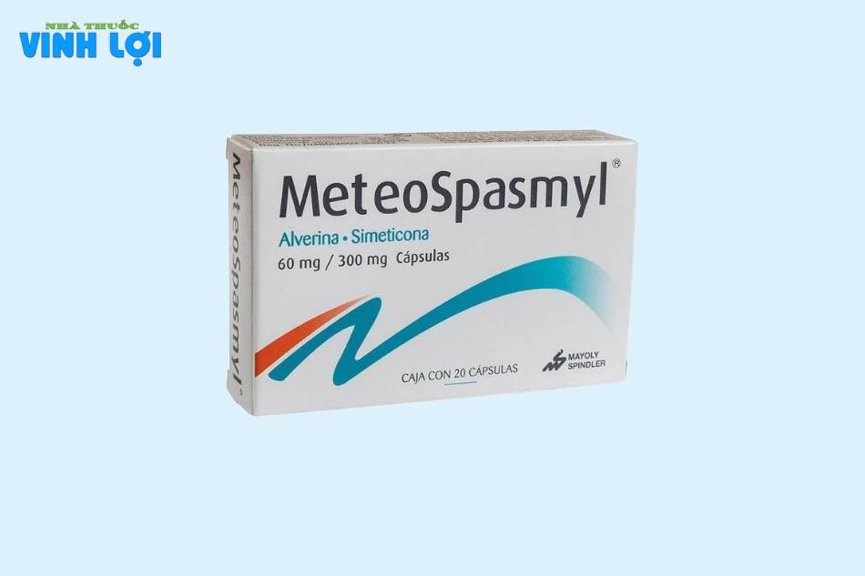 Thành phần Metespasmyl