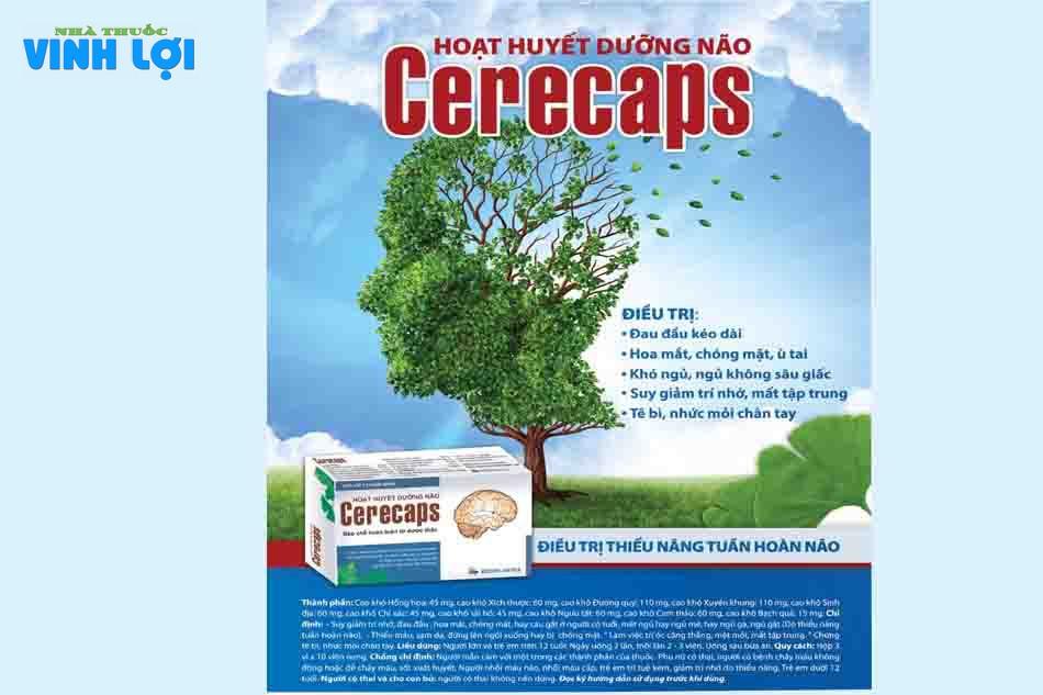Thuốc Cerecaps có tốt không?