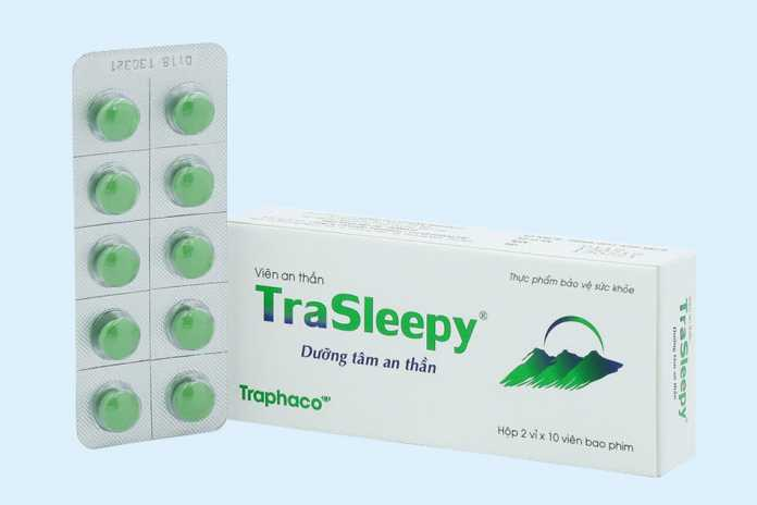 Viên uống dưỡng tâm an thần Trasleepy