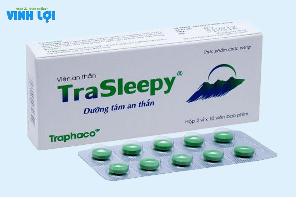 Viên uống dưỡng tâm an thần Trasleepy giá bao nhiêu?