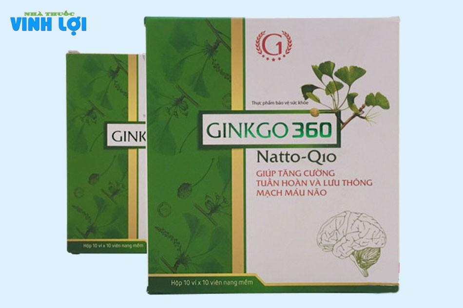 Cách sử dụng viên uống Ginkgo 360 Natto Q10
