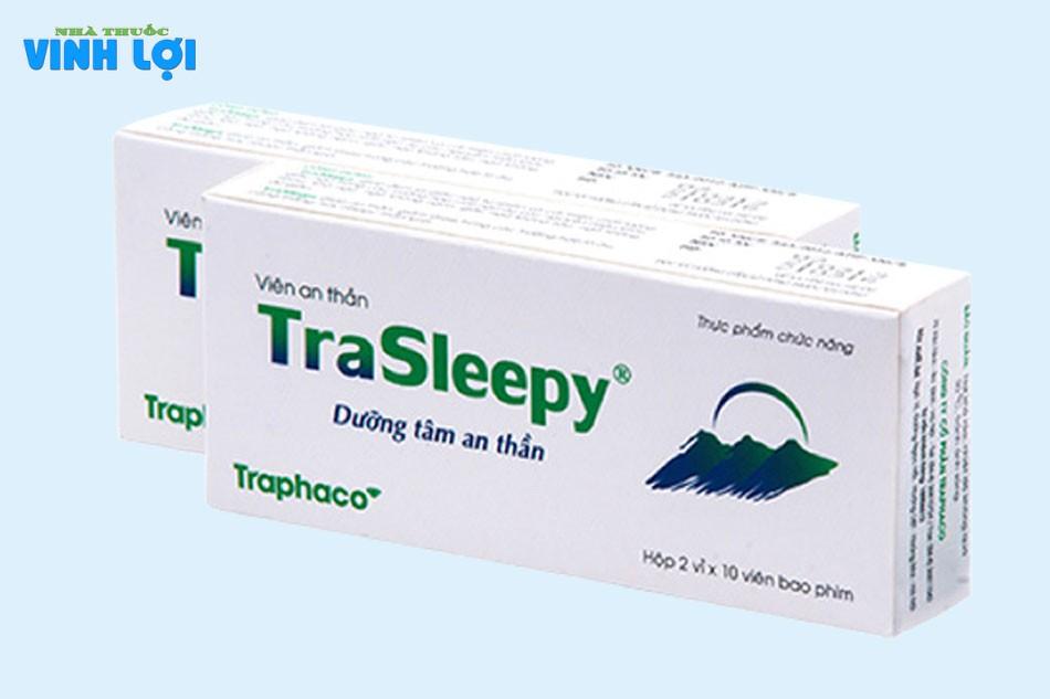 Viên uống dưỡng tâm an thần Trasleepy là gì?