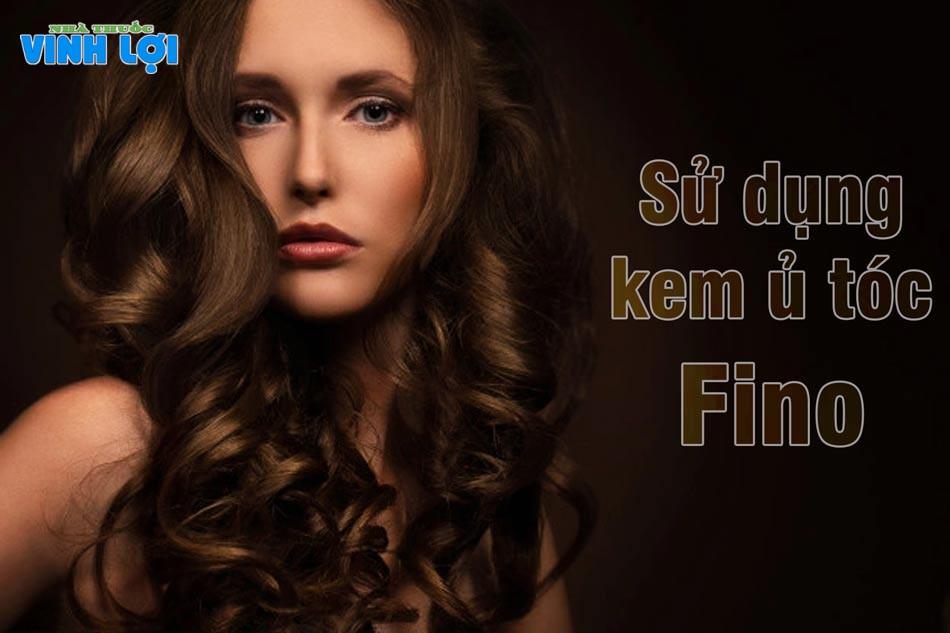 Kem ủ tóc Fino Shiseido khi ủ lạnh